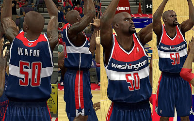 NBA 2K13 Washington Wizards Alternate Jersey Patch