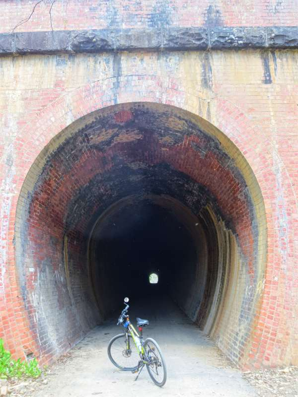 The Cheviot Tunnel on the Great Victorian Rail Trail