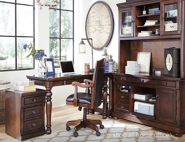 best buy ashley furniture burkesville home office desk for sale discount
