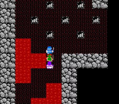 Dragon Warrior II - Escaleras mortales