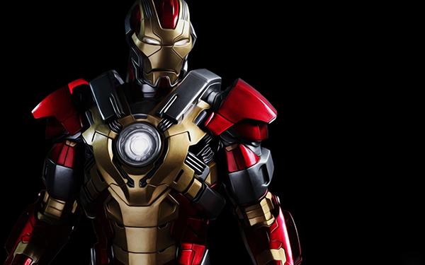 Superhero Iron Man