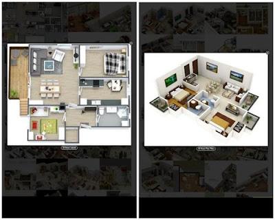 aplikasi desain rumah 3d home layout