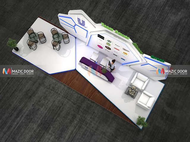 Designing of Exhibition Stall image 07