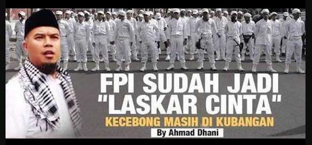 """FPI Sudah Jadi """"LASKAR CINTA"""", Kecebong Masih di KUBANGAN By:Ahmad Dhani"""