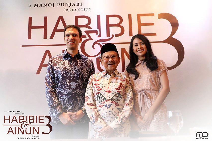 Eyang Habibie juga terlibat dalam memilih siapa yang akan memerankan sosok Ibu Ainun saat muda di Habibie Ainun 3