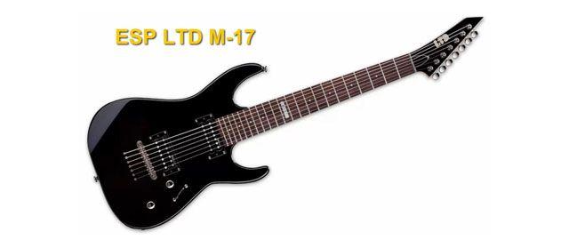 Guitarra Eléctrica de 7 Cuerdas ESP LTD M-17