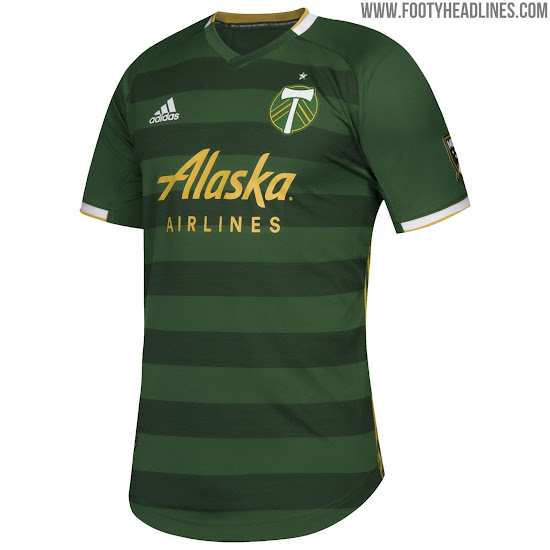 ab78bc6bc5f adidas Portland Timbers Home Jersey 2019. Buy now. Free UK shipping -  worldwide delivery