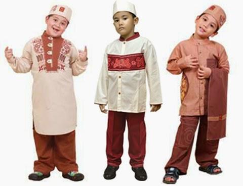 model baju koko anak