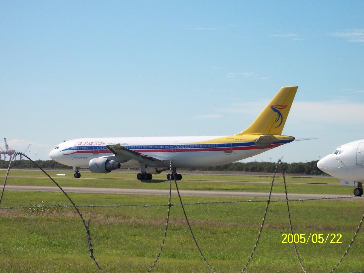 Brisbane Airport Plane Spotting in 2005