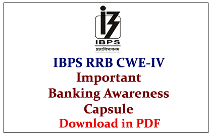 banking awareness for interview pdf