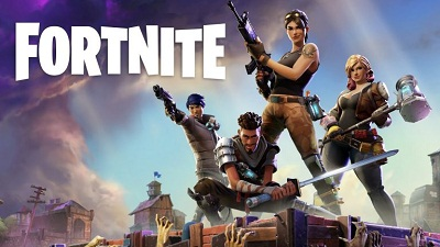 Fortnite game play battle royale by Epic games for android