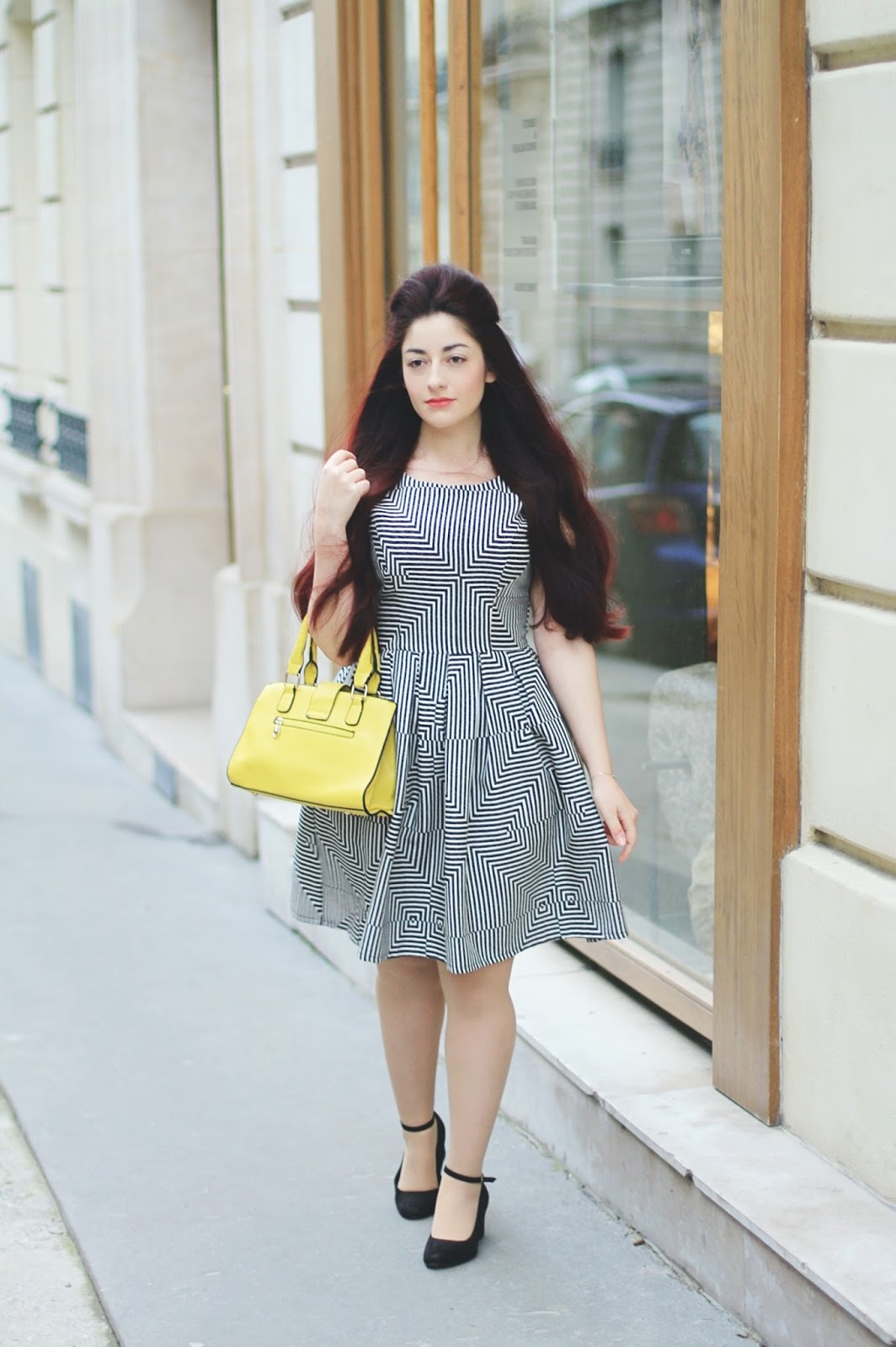robe patineuse structurée