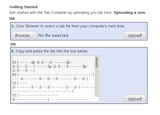 RolandC net: How to convert online guitar tabs to Midi to