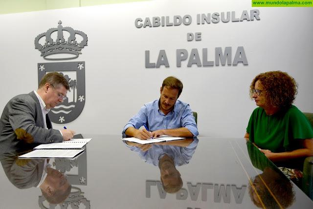 Cabildo y Cáritas renuevan su colaboración para atender las necesidades básicas de las familias más vulnerables