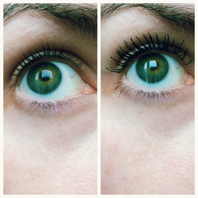 younique Moodstruck Epic Mascara before and after