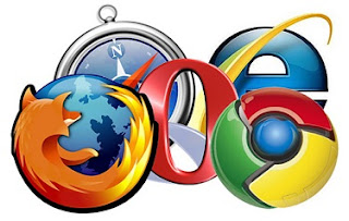 common and popular internet browsers