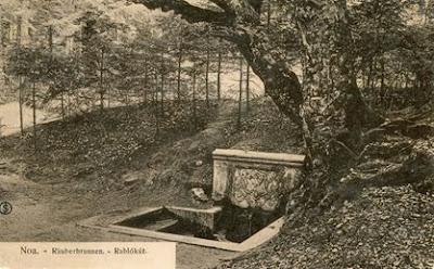 Fântâna hoților, nu departe de grădina zoologică din Brașov