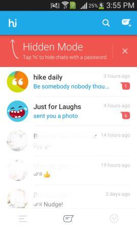 hike chat hide