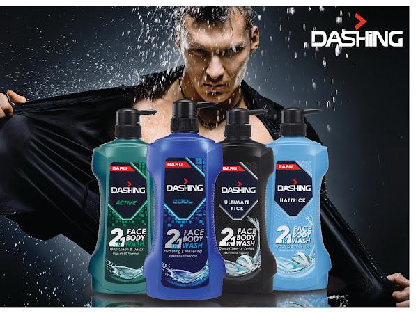 Sabun mandi Dashing 2 in 1 face body wash
