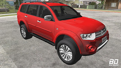 Download, Mod , Carro, Mitsubishi Pajero Dakar para GTA San Andreas, GTA SA, Jogo PC