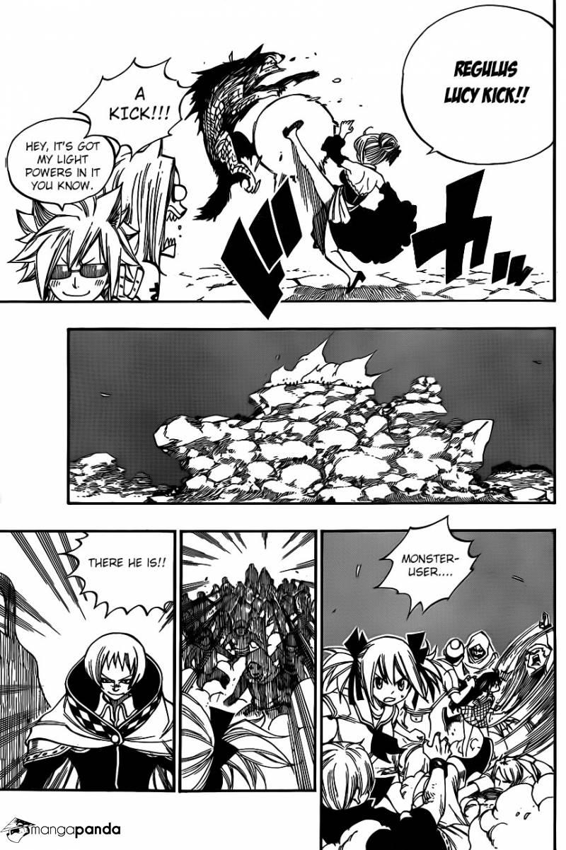 Fairy Tail Ch 422: Orochis Fin
