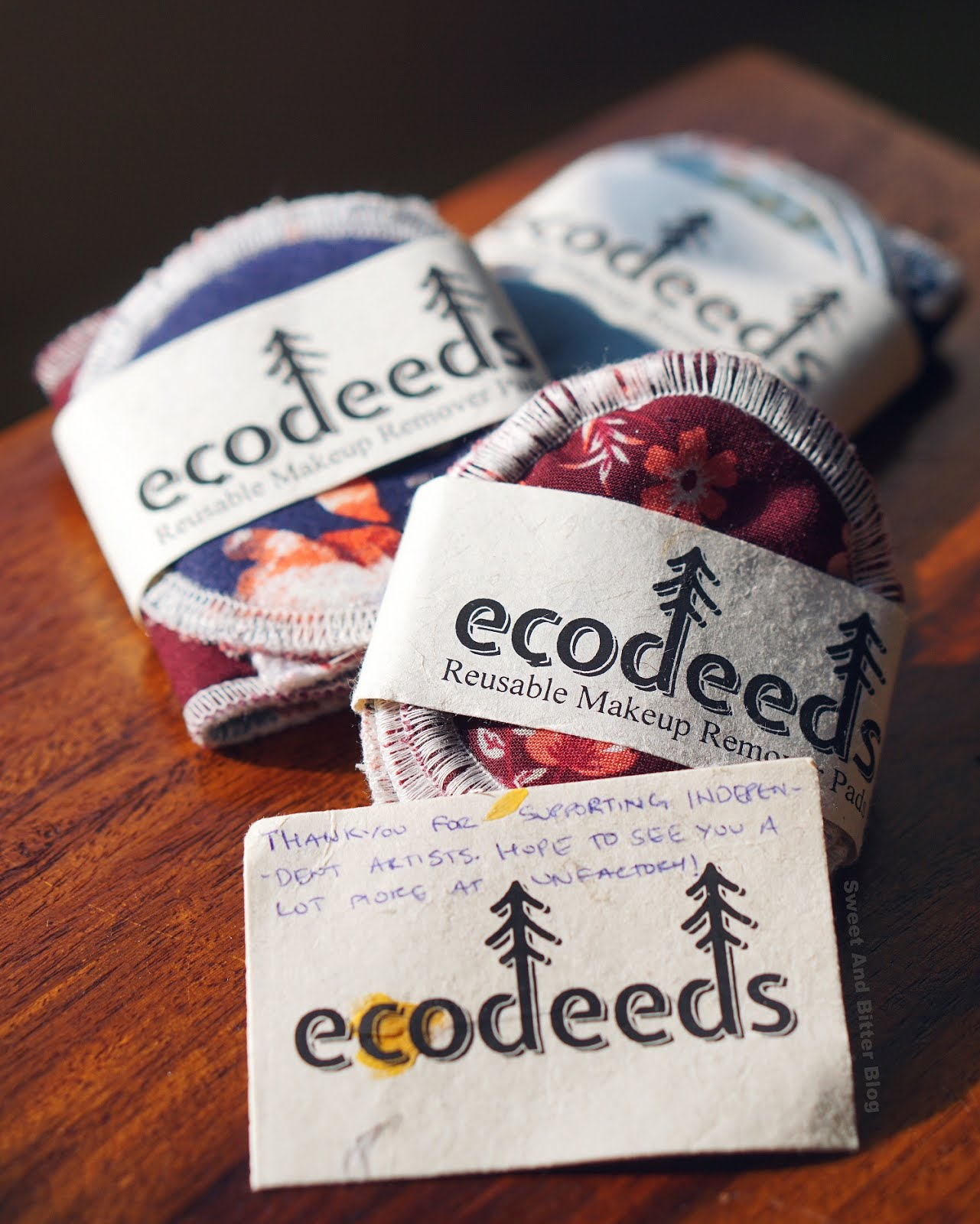 Reusable Makeup Remover Pads in India by Ecodeeds