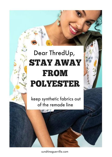 Thred Up Stop Using Synthetic Fabrics