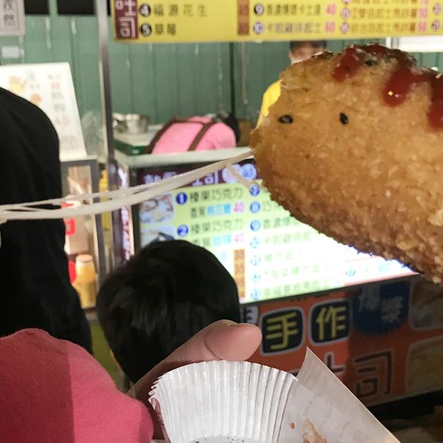 素食韓式米熱狗