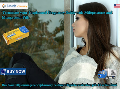 Buy Mifepristone Abortion Pill Online Cheap in USA UK over the counter at GenericEPharmacy