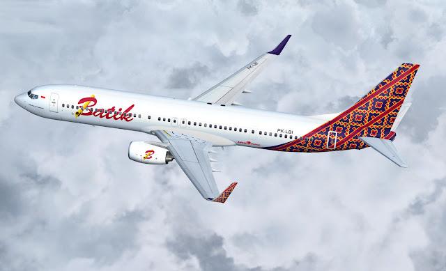 Batik Air Boeing 737-900ER
