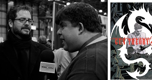 Daniel Way On Gun Theory From Dark Horse Geek Craft Cons & Woking With Steve Dillon