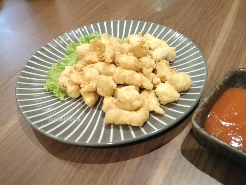 menu sushi okage lampung dori karaage