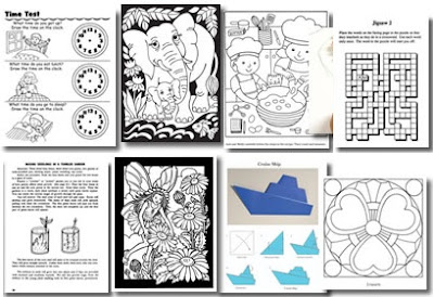 Image: Free Dover Coloring Pages, Puzzles, More