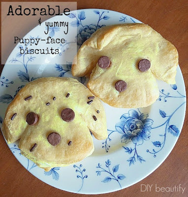 puppy face biscuits