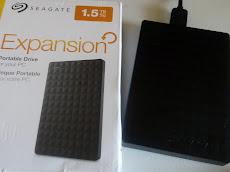 Beli external hard disk 1.5TB jenama SEAGATE , murah hanya di LAZADA