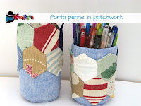 come fare un porta penne patchwork