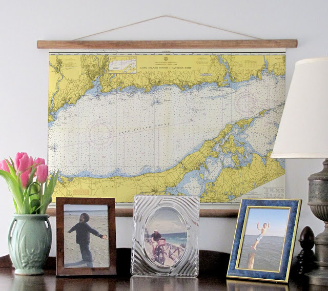 Nautical Charts Decoration
