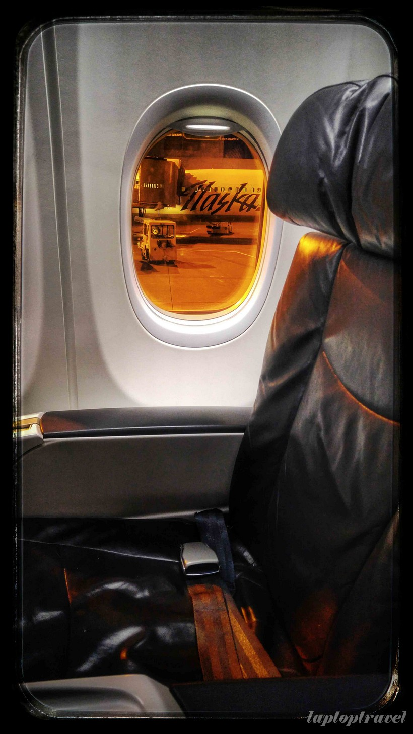 alaska airlines first class mileage run seats seating comfortable ealr morning seattle jpg