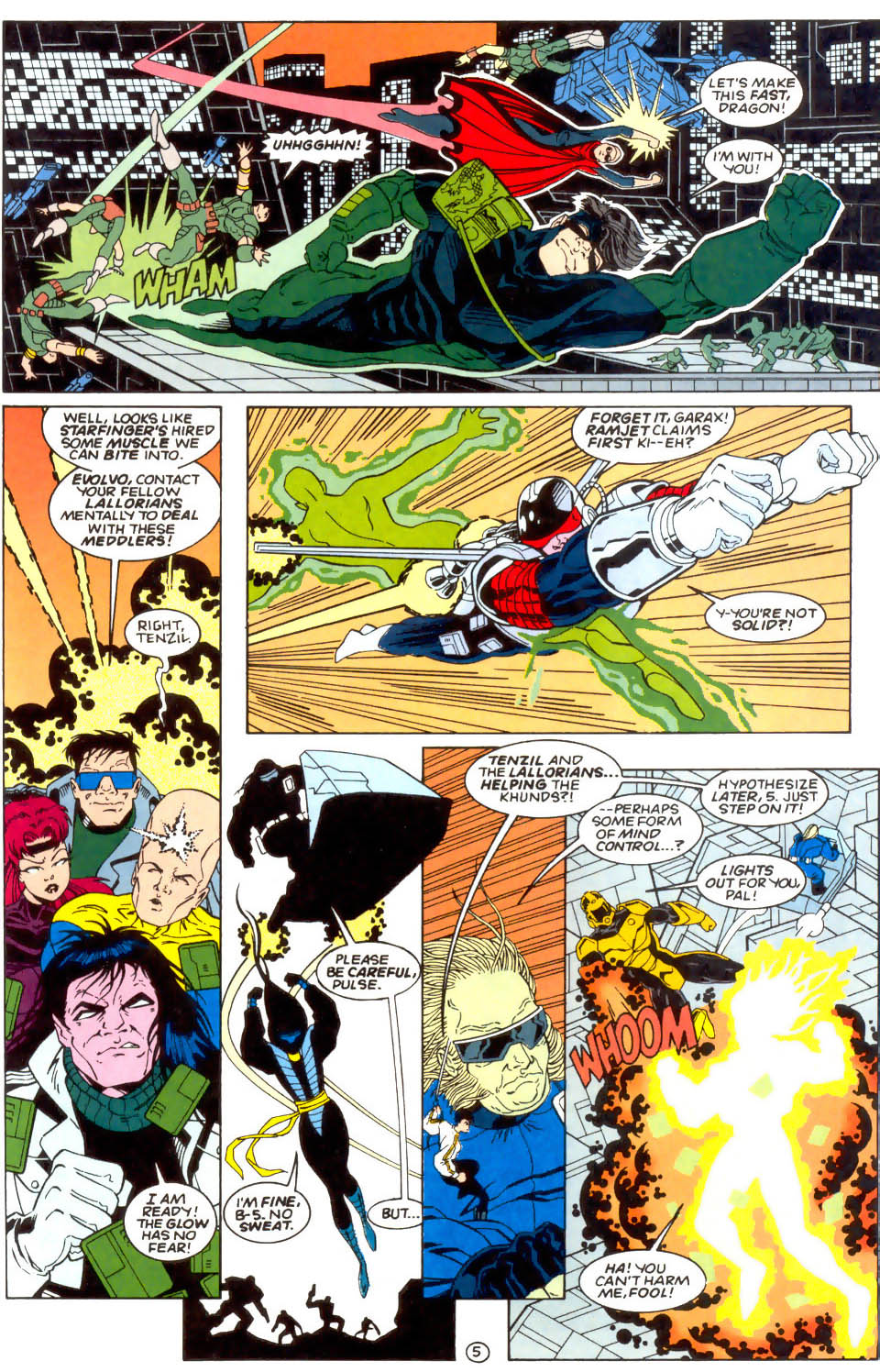 Legion of Super-Heroes (1989) 57 Page 5
