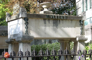 Photo de la tombe de Molière