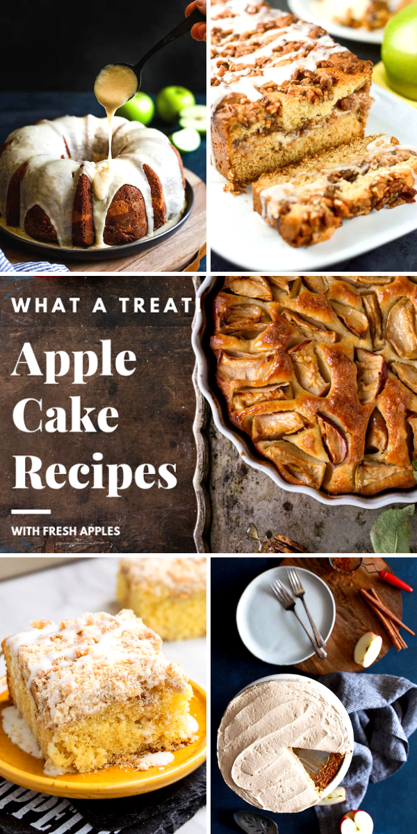 Apple Cake Recipes with Fresh Apples on Pinterest