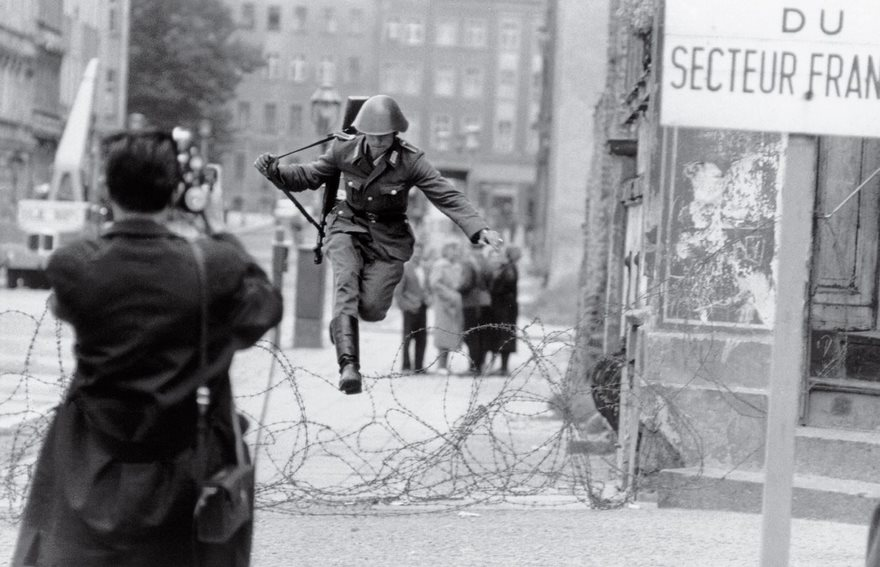 #22 Leap Into Freedom, Peter Leibing, 1961 - Top 100 Of The Most Influential Photos Of All Time