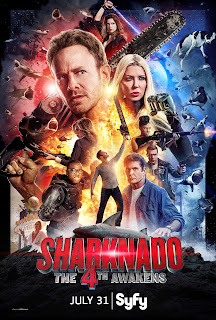Resultado de imagen para TIBURON TORNADO 4 (SHARKNADO THE 4TH AWAKENS)