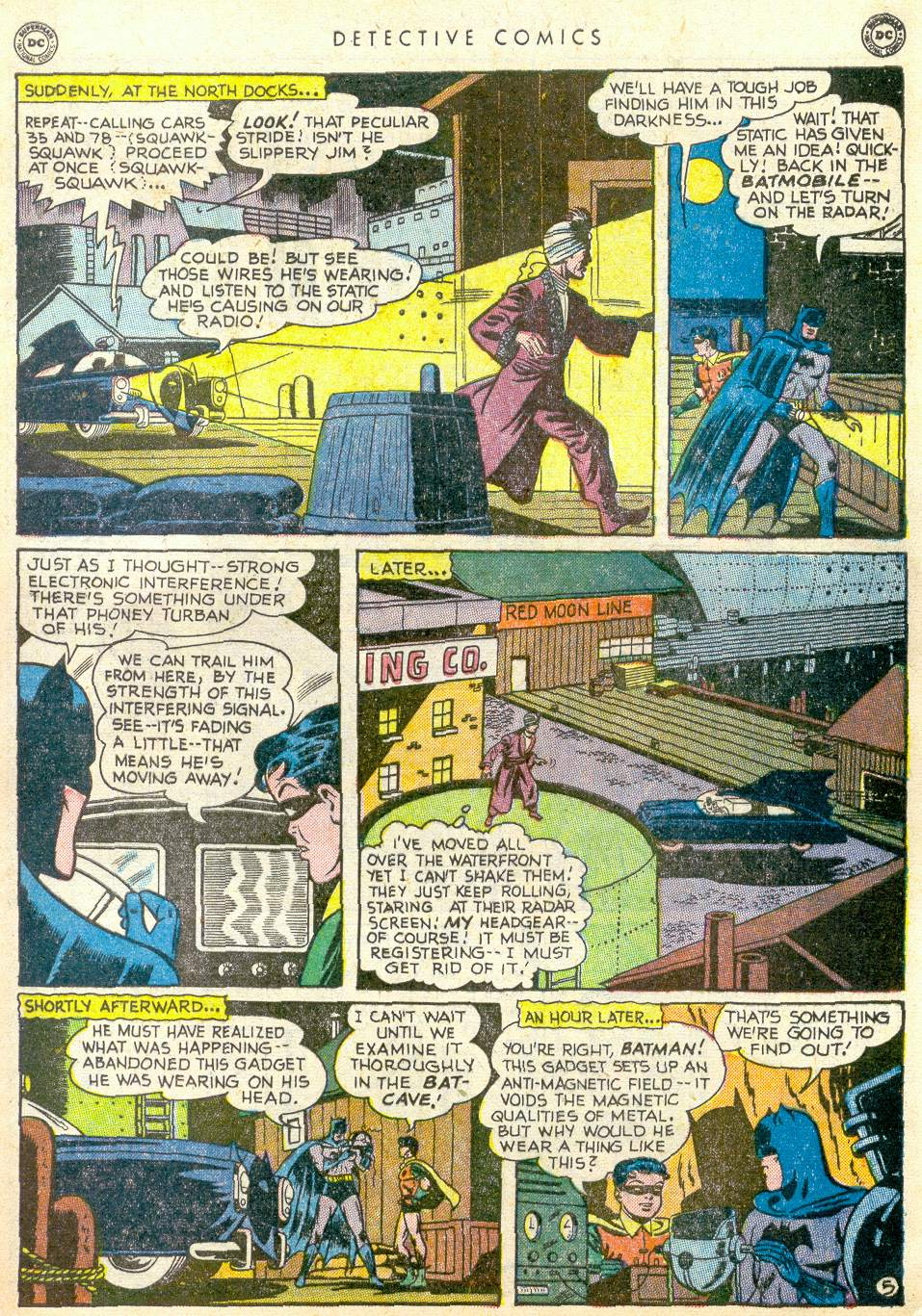 Read online Detective Comics (1937) comic -  Issue #163 - 6