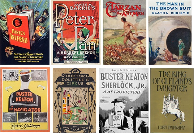Image: Books from 1924 in Public Domain
