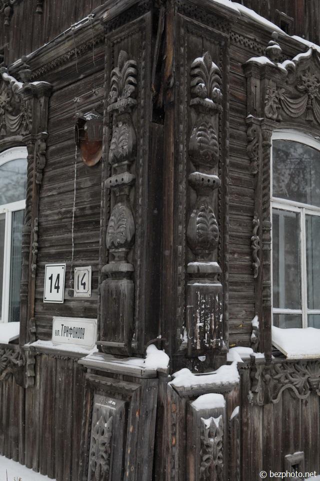 томск деревянное зодчество
