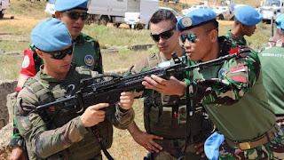 Yukk Ngintip Latihan Bersama Satgas Indobatt dan Prancis di Libanon - Commando