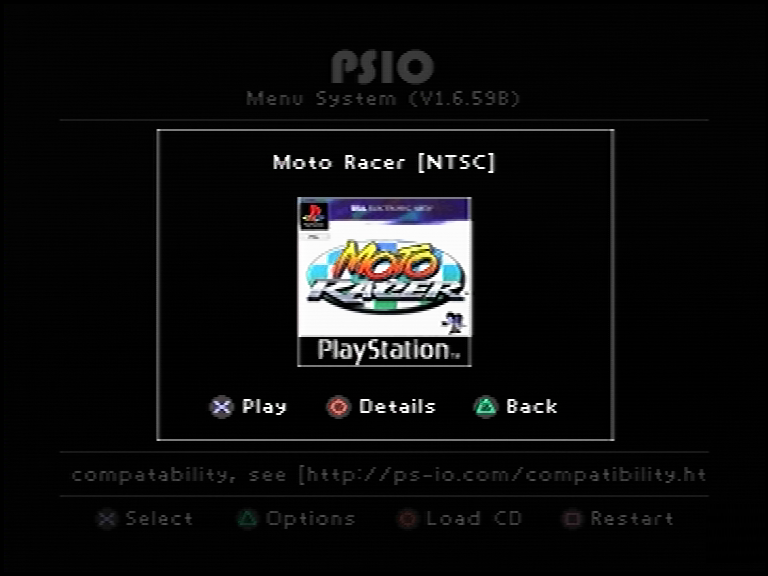 PSIO - PlayStation 1 ISO Loader 2