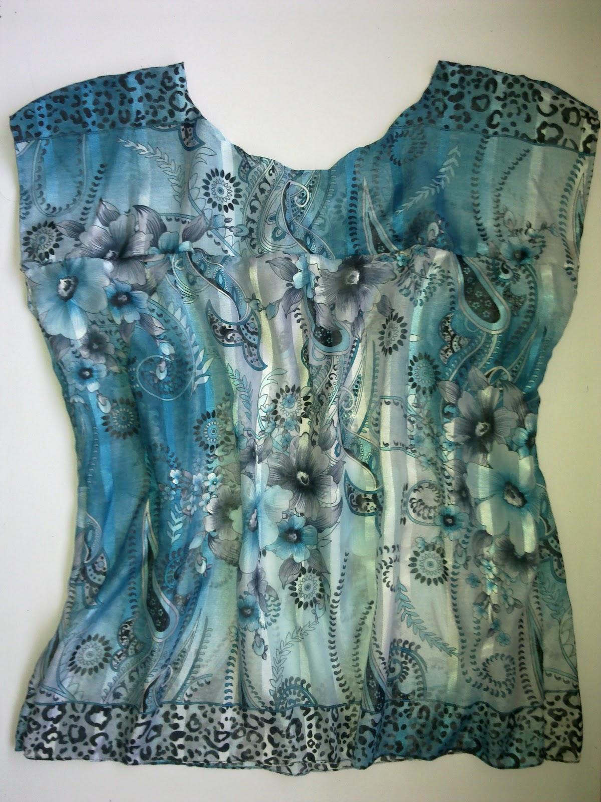 Eşarptan Nasıl Tarz Bir Yazlık Elbise Yapılır 10