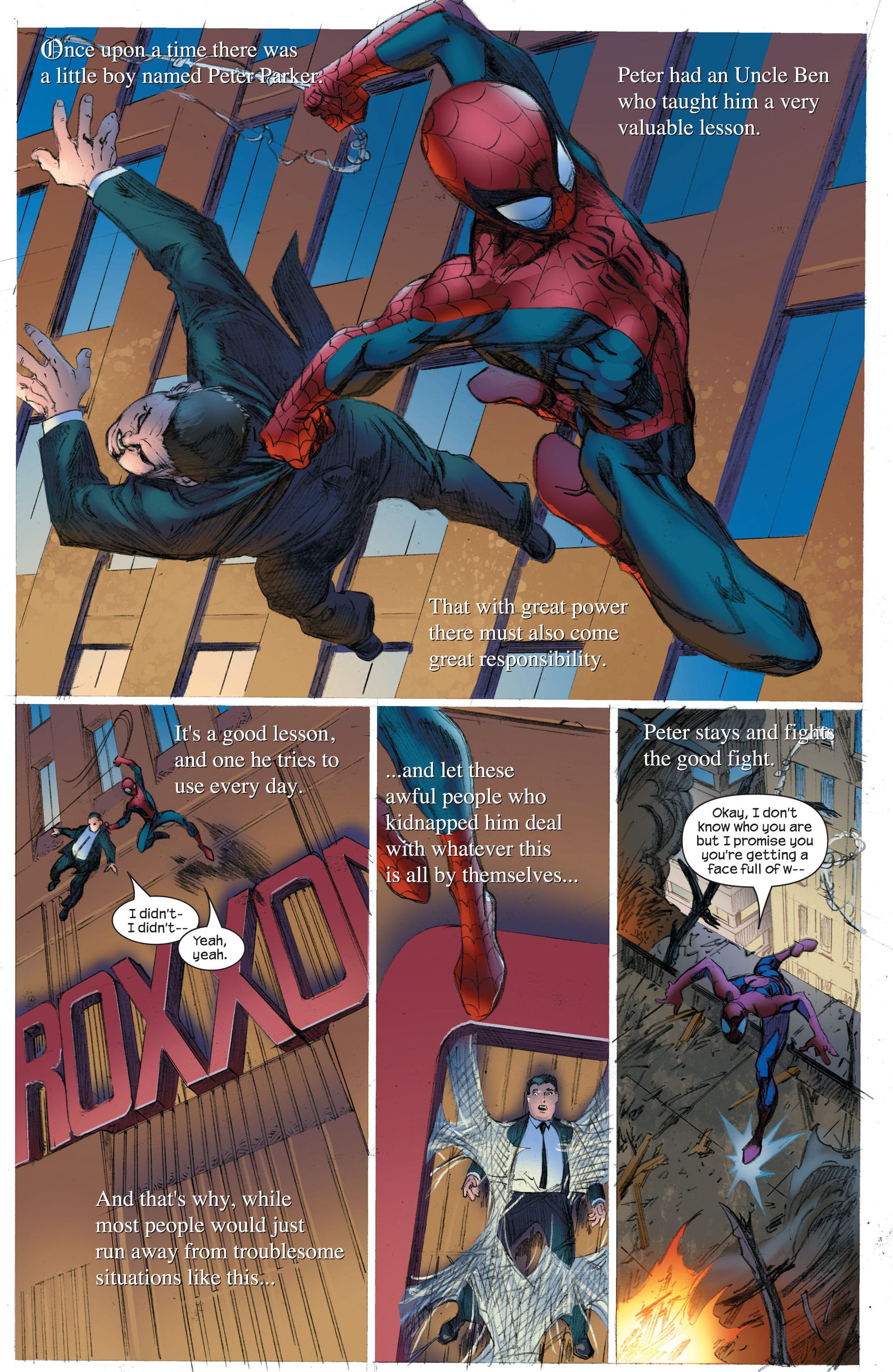 Read online Ultimate Spider-Man (2000) comic -  Issue #89 - 18